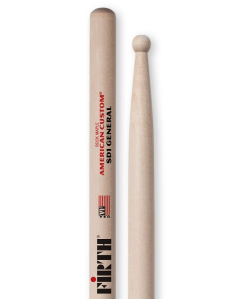 Vic Firth SD1 General Drumstick Ahorn Hickory