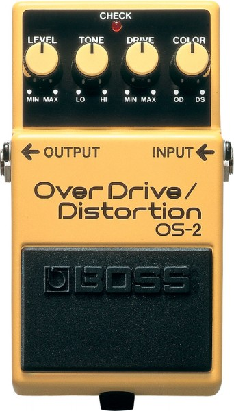 Boss OS 2 | Overdrive/Distortion