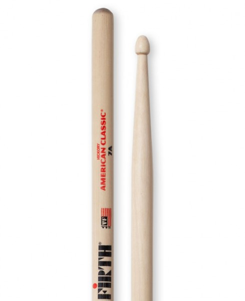 Vic Firth 7A Drumstick American Classic Hickory