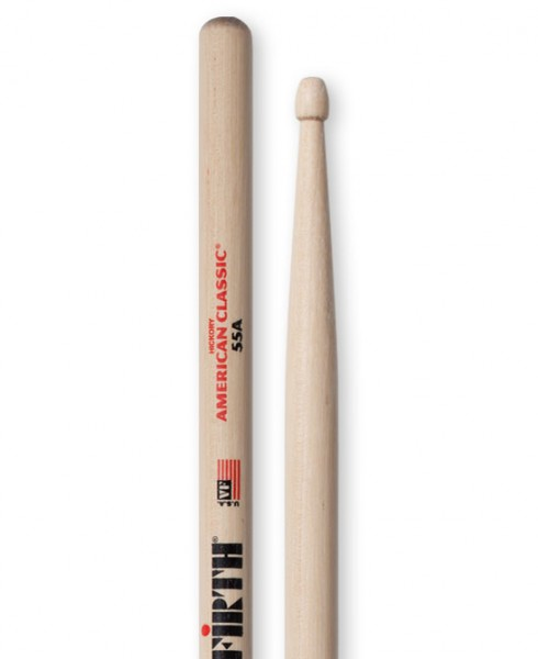 Vic Firth VF55A Drumstick American Classic Hickory