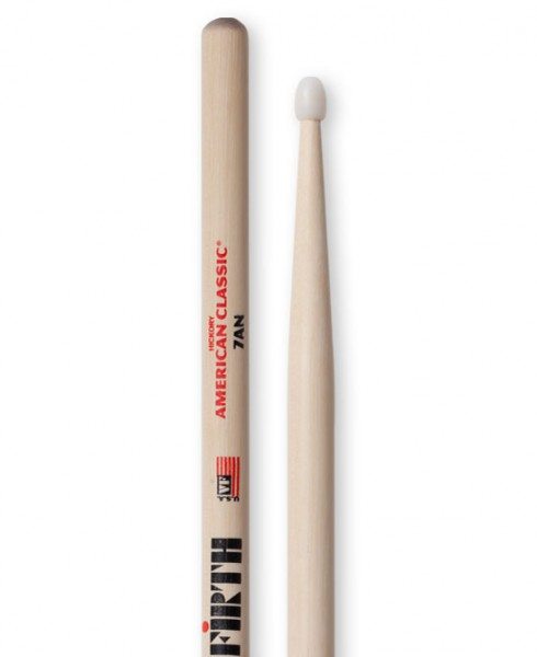 Vic Firth 7AN Drumstick Nylon American Classic Hickory