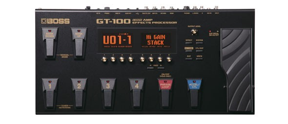 Boss GT 100 | Multieffekt