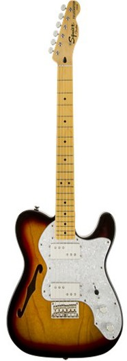 Squier VM 72 Thinline WH Telecaster (by Fender)